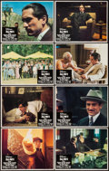 "Movie Posters:Crime, The Godfather Part II (Paramount, 1974). Lobby Card Set of 8 (11"" X14""). Crime.. ... (Total: 8 Items)"