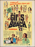 "Movie Posters:Rock and Roll, The Girls on the Beach (Paramount, 1965). Poster (30"" X 40""). Rockand Roll.. ..."