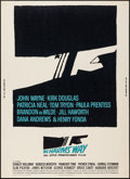 """Movie Posters:War, In Harm's Way (Paramount, 1965). Poster (30"""" X 40""""). War.. ..."""