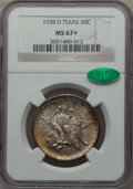 Commemorative Silver, 1938-D 50C Texas MS67+ NGC. CAC....