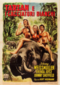 "Movie Posters:Adventure, Tarzan and the Huntress (RKO, 1948). Italian 2 - Foglio (39"" X55""). Adventure.. ..."
