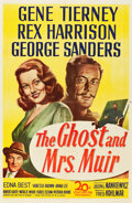 """Movie Posters:Romance, The Ghost and Mrs. Muir (20th Century Fox, 1947). One Sheet (27"""" X 41"""").. ..."""