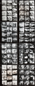 """Movie Posters:James Bond, Thunderball (United Artists, 1965). Contact Proof Sheets (8) (8"""" X10"""").. ... (Total: 8 Items)"""