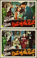 "Movie Posters:Film Noir, Out of the Past (RKO, 1947). Lobby Cards (2) (11"" X 14"").. ...(Total: 2 Items)"