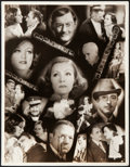 "Movie Posters:Academy Award Winners, Grand Hotel (MGM, 1932). Publicity Cast Photo (10"" X 13"").. ..."
