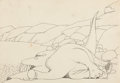 Animation Art:Production Drawing, Winsor McCay Gertie the Dinosaur Production Drawing (WinsorMcCay , 1914)....