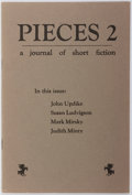 Books:Literature 1900-up, John Updike and others. Pieces 2. A Journal of ShortFiction. Bits Press, 1980. Publisher's wrappers. Fine....