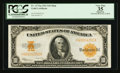 Large Size:Gold Certificates, Fr. 1173 $10 1922 Mule Gold Certificate PCGS Apparent Very Fine 35.. ...