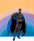 Animation Art:Presentation Cel, Super Friends Batman Presentation Cel (Hanna-Barbera,1970s).... (Total: 2 Items)