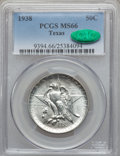 Commemorative Silver: , 1938 50C Texas MS66 PCGS. CAC. PCGS Population (200/47). NGCCensus: (236/48). Mintage: 3,780. Numismedia Wsl. Price for pr...