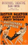 "Movie Posters:Comedy, The Passionate Plumber (MGM, 1932). Window Card (14"" X 22"").. ..."