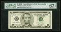 Small Size:Federal Reserve Notes, Fr. 1992-I $5 2006 Federal Reserve Note. PMG Superb Gem Unc 67 EPQ.. ...