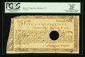 Colonial Notes:Connecticut, Connecticut Treasury Office June 1, 1780. Hole Cancel PCGS ApparentVery Fine 25.. ...