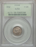 Bust Half Dimes: , 1832 H10C AU58 PCGS. PCGS Population (106/436). NGC Census:(131/625). Mintage: 965,000. Numismedia Wsl. Price for problem ...