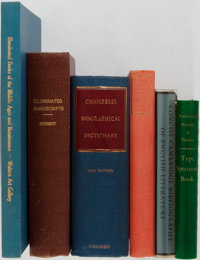 [Literature Reference]. Group of Six Related Books. Various publishers and dates. Publisher's binding, one with dust