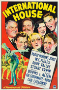 """Movie Posters:Comedy, International House (Paramount, 1933). One Sheet (27"""" X 41"""").. ..."""