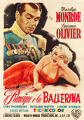 "Movie Posters:Romance, The Prince and the Showgirl (Warner Brothers, 1957). Italian 4 -Foglio (55"" X 78"").. ..."