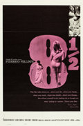 "Movie Posters:Drama, 8½ (Embassy, 1963). One Sheet (27"" X 41"").. ..."