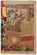 Golden Age (1938-1955):Superhero, USA Comics #12 Coverless (Timely, 1944) Condition: PR....