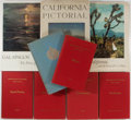 Books:Travels & Voyages, [California and Pacific Ocean]. Lot of Nine Related Books. Various publishers and dates. Publisher's binding, three with dus... (Total: 9 Items)