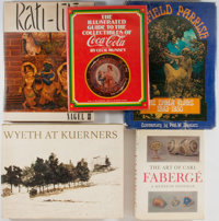 [Art Reference]. Lot of Five Books on Art Reference. Various publishers, places, dates. Illustrated. All with dust ja