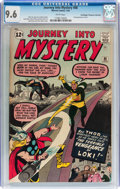 Silver Age (1956-1969):Superhero, Journey Into Mystery #88 Don/Maggie Thompson Collection pedigree(Marvel, 1963) CGC NM+ 9.6 White pages....