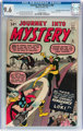 Journey Into Mystery #88 Don/Maggie Thompson Collection pedigree (Marvel, 1963) CGC NM+ 9.6 White pages
