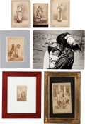 American Indian Art:Photographs, SEVEN PHOTOS OF MOTHERS AND CHILDREN, VARIOUS FORMATS ANDPHOTOGRAPHERS... (Total: 7 Items)