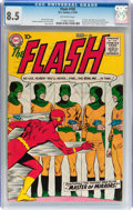 Silver Age (1956-1969):Superhero, The Flash #105 (DC, 1959) CGC VF+ 8.5 Off-white pages....