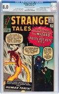 Silver Age (1956-1969):Superhero, Strange Tales #110 Don/Maggie Thompson Collection pedigree (Marvel,1963) CGC VF 8.0 Off-white to white pages....