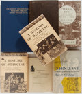 Books:Medicine, [Medical]. Lot of Seven Books of a Medical Nature, including: Ancient Egyptian and Cnidian Medicine, A History of Medici... (Total: 7 Items)