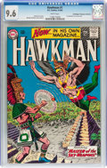 Silver Age (1956-1969):Superhero, Hawkman #1 Don/Maggie Thompson Collection pedigree (DC, 1964) CGCNM+ 9.6 White pages....
