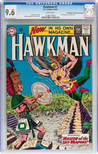 Hawkman #1 Don/Maggie Thompson Collection pedigree (DC, 1964) CGC NM+ 9.6 White pages