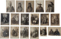 Photographs, SEVENTEEN STUDIO PORTRAITS OF CROW INDIANS, SILVER GELATIN PRINTS UNMOUNTED, BAUMGARTNER STUDIO, BILLINGS, MONTANA, 1909... (Total: 17 )