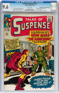Tales of Suspense #51 Don/Maggie Thompson Collection pedigree (Marvel, 1964) CGC NM+ 9.6 White pages
