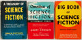 Books:Science Fiction & Fantasy, Groff Conklin [editor]. Three collections of science fiction stories, all published in New York by Crown. Various dates. Pub... (Total: 3 Items)