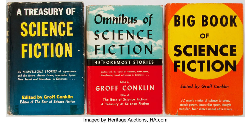 Groff Conklin [editor]  Three collections of science | Lot