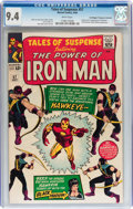 Silver Age (1956-1969):Superhero, Tales of Suspense #57 Don/Maggie Thompson Collection pedigree (Marvel, 1964) CGC NM 9.4 White pages....