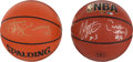 Basketball Collectibles:Balls, Starks/Mason and Dr. J Signed Basketballs Lot of 2....