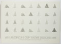 Books:Reference & Bibliography, Francois Chevalier and Jacques Taglang. SIGNED/LIMITED.America's Cup Yacht Designs: 1851-1986. France, 1987. First...