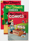 Golden Age (1938-1955):Cartoon Character, Walt Disney's Comics and Stories Group (Dell, 1948-53) Condition:Average VG/FN.... (Total: 8 Comic Books)