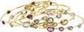 Estate Jewelry:Bracelets, Multi-Stone, Gold Bracelets, Ippolita. ... (Total: 5 Items)