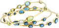 Estate Jewelry:Bracelets, Multi-Stone, Gold Bracelets, Ippolita. ... (Total: 3 Items)