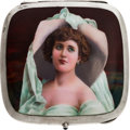 Estate Jewelry:Objects d'Art, Enamel, Silver Cigarette Case, late 19th century. ...