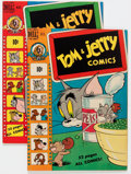 """Golden Age (1938-1955):Cartoon Character, Tom and Jerry #65 and 68 Group - Davis Crippen (""""D"""" Copy) pedigree(Dell, 1950) Condition: Average VF+.... (Total: 2 Comic Books)"""