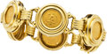 Estate Jewelry:Bracelets, Gold Coin, Gold Bracelet. ...