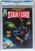 Magazines:Superhero, Marvel Preview #11 Star-Lord (Marvel, 1977) CGC NM+ 9.6 Whitepages....