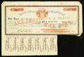 Obsoletes By State:Arkansas, Little Rock, AR- State of Arkansas $5 War Bond Aug. 1, 1861. ...