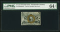 Fractional Currency:Second Issue, Fr. 1232SP 5¢ Second Issue PMG Choice Uncirculated 64 EPQ Net.. ...
