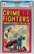 "Golden Age (1938-1955):Crime, Crime Fighters #7 Davis Crippen (""D"" Copy) pedigree (Atlas, 1949) CGC VF/NM 9.0 Off-white pages...."